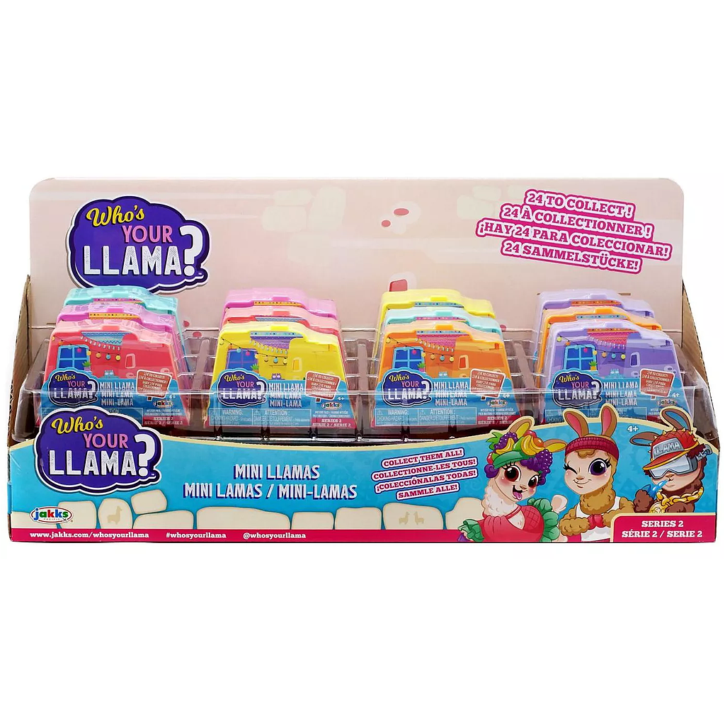 WHO'S YOUR LLAMA S2 MINI FIGURA 2""