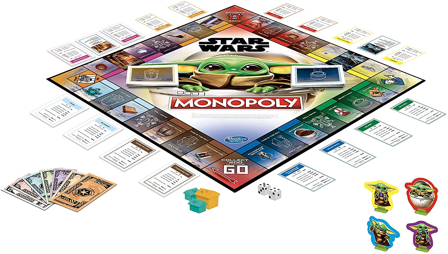 MONOPOLY STARWARS THE CHILD